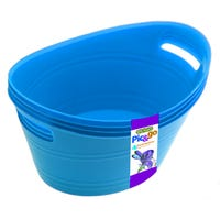 Edgo Pick and Go Baskets Blue 4 Pack