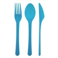 EDGO Cutlery Set Blue 12 Pack
