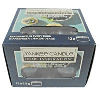 Yankee Home Inspiration Tea Lights Blueberry Cheesecake 12 Pack