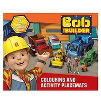 * Bob The Builder Colouring And Activity Placemat