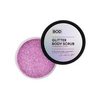 BOD Glitter Body Scrub Pink Salt and Coconut Iridescent Glitter Scrub 200g
