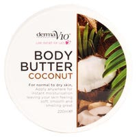 Derma V10 Body Butter Coconut 220ml