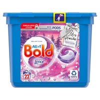 Mrs Hinch's Bold All-In-One Pods in Rose Wonderland 22 Washes