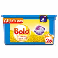 Bold All-in-1 Summer Breeze Pods 25 Washes