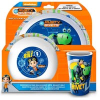 Rusty Rivets 3 Piece Dinner Set