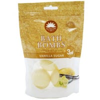 Elysium Spa Bath Bombs Vanilla Sugar 3x50g