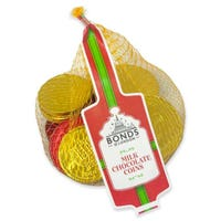 Bonds Red and Gold Milk Chocolate Coins 90g