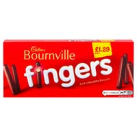 Cadbury Bournville Dark Chocolate Fingers 114g