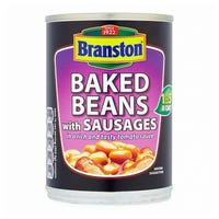 Branston Baked Beans with Sausages Tin 405g