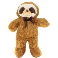 Soft Plush Sloth Brown 34cm