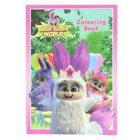 Bush Baby World Colouring Book