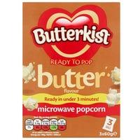 Butterkist Microwave Popcorn Butter 3 x 60g