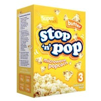 * Microwave Butter Popcorn 3 x 85g