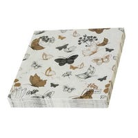 Butterfly Napkins 20 Pack