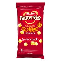 Butterkist Crunchy Toffee Popcorn 5 Pack