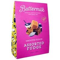 Buttermilk Gluten Free Assorted Smooth Fudge 150g