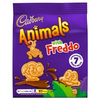 Cadbury Mini Animal Biscuits 7 Pack