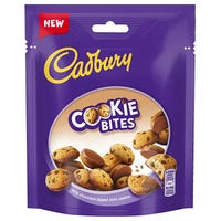 Cadbury Milk Chocolate Dipped Cookie Bites 90g