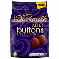 Cadbury Darkmilk Buttons 90g