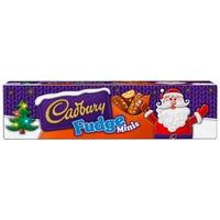 Cadbury Fudge Minis Tubes 72g