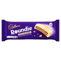 Cadbury Roundie White Chocolate Biscuits 128g