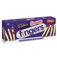 Cadbury Snowy Fingers Box 115g