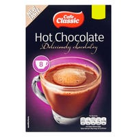 Cafe Classic Hot Chocolate Sachets 8 Pack