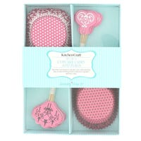 Cupcake Decorating Kit Pink
