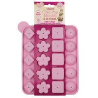 Silicone Shapes Cake Pop Moulds and 20 Sticks