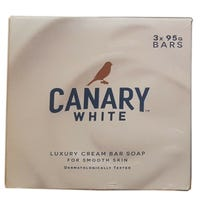 Canary White Bars of Soap 3 Pack