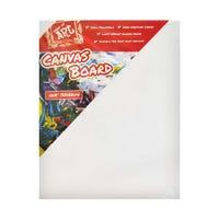 Canvas Board Framed 10 X 8 Inch