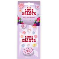 Love Heart Summer Berries Car Air Freshener