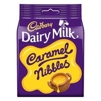 Cadbury Dairy Milk Caramel Nibbles Chocolate Bag 95g