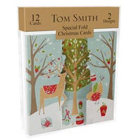 Tom Smith Special Fold Kraft Cards