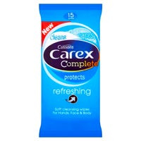 Carex Complete Protects Refreshing Wipes 15 Pack