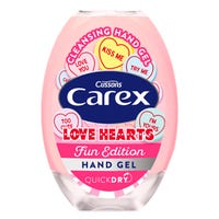 Carex Anti-Bacterial Love Hearts Hand Gel 50ml