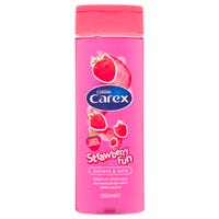 Carex Shower and Bath Strawberry Fun 500ml