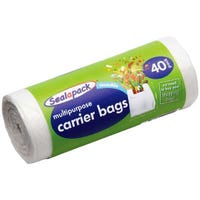 Multi Purpose Carrier Bags 40 Pack