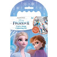 Disney Frozen 2 Carry Along Colouring Set