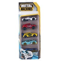 Metal Machines Die Cast Cars Assorted 5 Pack