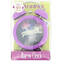 Cat In Space Alarm Clock