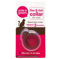 Pride And Groom Flea And Tick Collar For Cats