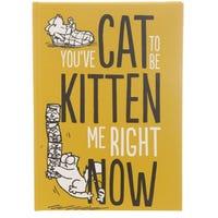 Simon's Cat Kitten Slogan A5 Notebook