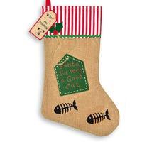 Christmas Pet Stocking Cats