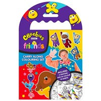 Cbeebies Carry Along Colouring Set