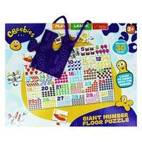 Cbeebies Giant Number Floor Puzzle 30 Pieces