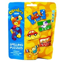 Cbeebies Spelling Puzzle in a Bag 15 Pieces