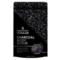 Skin Academy Indulge Charcoal Body Scrub 200g