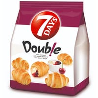 7 Days Mini Croissants Cherry and Vanilla Crème 5 Pack