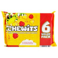 Chewits Fruit Salad 6 Pack